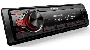 Som Automotivo Pioneer MVH-S218BT,Bluetooth, USB,Rádio AM/FM