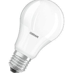 Lâmpada Bulbo LED 8W E27 3000K Luz Amarela Bivolt Osram