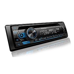 Rádio CD Player Pioneer DEH-S4280BT com USB e Bluetooth