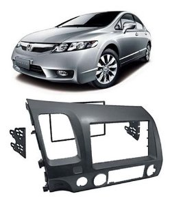 Moldura 2 Din New Civic Grafite EPX 207