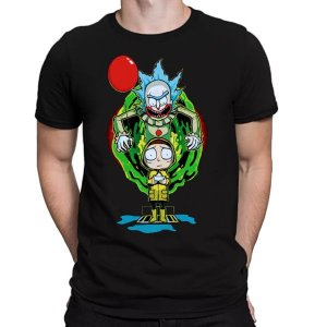 Camiseta Unissex - It and Morty