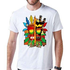 Camiseta Unissex - Aku Aku vs Uka Uka