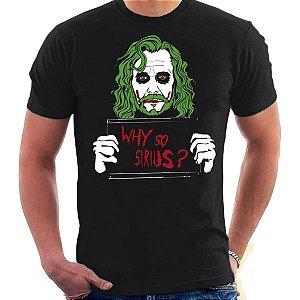 Camiseta Unissex - Why So Serius ? - Harry Potter