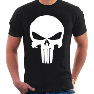Camiseta Unissex - Punisher - Justiceiro - Marvel