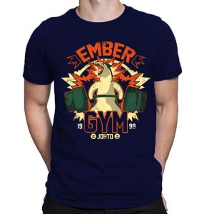 Camiseta Unissex - Pokemon Ember Gym