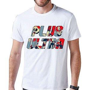 Camiseta Unissex - Plus Ultra - Boku no Hero
