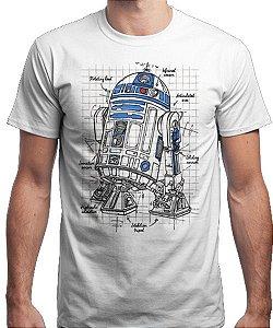 Camiseta Unissex - Droid Details