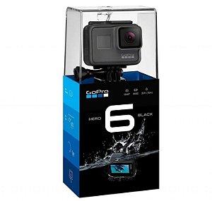 Câmera Digital GoPro Hero 6 Black com 12 MP, Gravação em 4K
