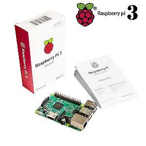 Raspberry Pi 3 Modelo B - CPU ARMv8 quad-core de 64 bits de 1.2 GHz