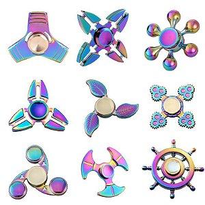 Findget Hand Spinner Toy Anti Stress / Estresse de metal - Vários modelos - escolha o seu
