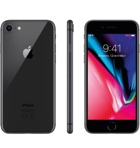 "Apple iPhone 8 Cinza Espacial, com Tela de 4,7"", 4G, 64 GB e Câmera de 12 MP"