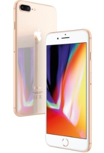 "Apple iPhone 8 Plus Dourado, 256 GB, Tela Retina HD 5.5"" Polegadas, 4G, NFC, Cam 12mp, Chip A11 Bionic, 3D Touch ID, iOs 11"