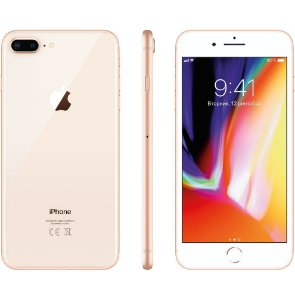 "Apple iPhone 8 Plus Dourado, 64 GB, Tela Retina HD 5.5"" Polegadas, 4G, NFC, Cam 12mp, Chip A11 Bionic, 3D Touch ID, iOs 11"