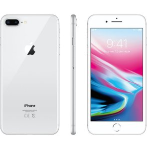 "Apple iPhone 8 Plus Prata, 64 GB, Tela Retina HD 5.5"" Polegadas, 4G, NFC, Cam 12mp, Chip A11 Bionic, 3D Touch ID, iOs 11"