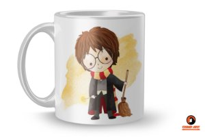 Caneca Harry Potter Aquarela - Harry