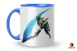 Caneca Gamer - Legend of Zelda