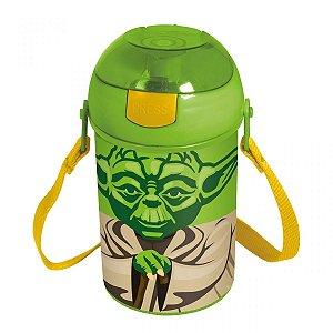 Garrafa Pop Up- Star Wars - Yoda