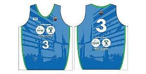 Camisa de jogo (azul) do Quest ANB3 Saskatoon