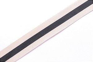 Faixa Areia Listra Preta - Coleção Stripes