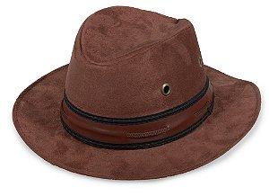 Chapéu Cowboy Marrom