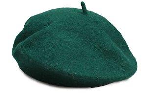 Boina Francesa Algodão Verde