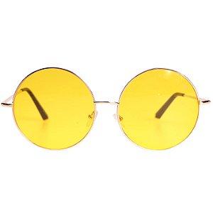 Óculos Tree Hippie Amarelo