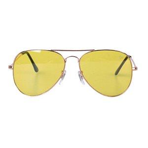 Óculos Tree Aviator Amarelo Transparente