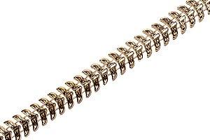 Faixa Metalizada Dourada