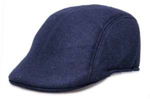 Boina Algodão Azul Marinho Masculina
