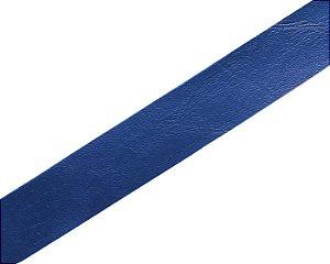 Faixa Couro Azul Marinho