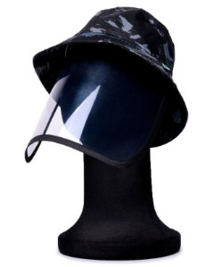 Chapéu Bucket Militar com Proteção