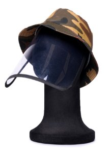 Chapéu Bucket Camuflado com Proteção