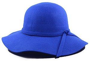 Chapéu Floppy Aba Média Azul