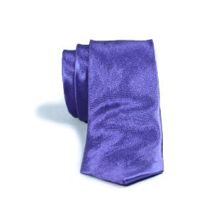 Gravata Slim Fit Roxo