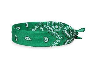 Bandana Estampada Verde