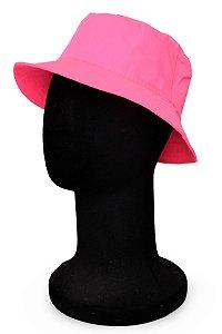 Chapéu Bucket Rosa Neon