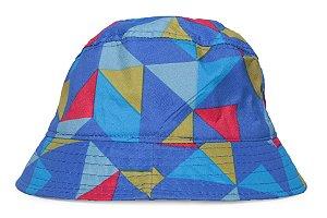 Chapéu Bucket Infantil Estampa Geométrica