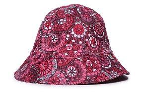Chapéu Bucket Infantil Estampa Mandala