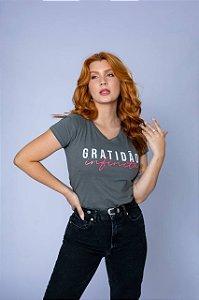 T-shirt Gratidão Infinita