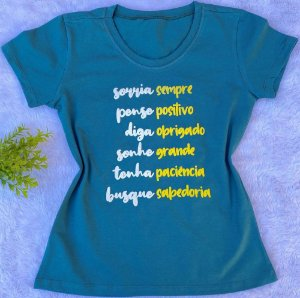 T-shirt Sorria Sempre