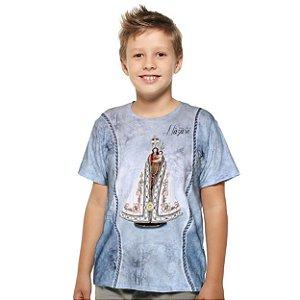 Camiseta infantil Nossa de Senhora de Nazaré - Coleção Ágape