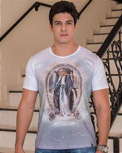 Camiseta Nossa Senhora das Graças - Coleção Ágape