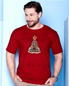 Camiseta Nossa Senhora Aparecida - Coleção Ágape