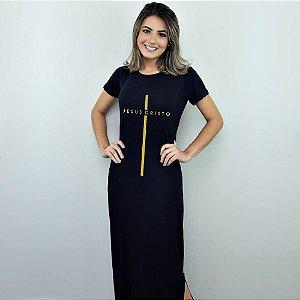 Vestido Longo Jesus Cristo
