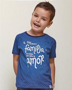 Camiseta Infantil Família Unissex