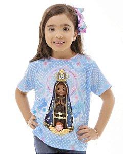 Camiseta Infantil Aparecidinha
