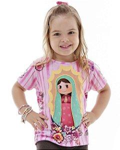 Camiseta Infantil Guadalupezinha