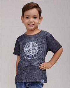 Camiseta Infantil Medalha de São Bento