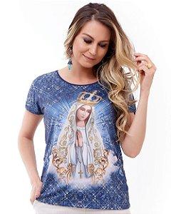 Blusa Nossa Senhora de Fátima - Coleção Pedraria