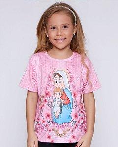 Blusa Infantil Rosarinho